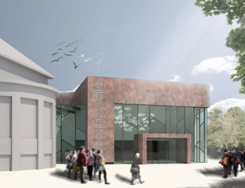 Stadtsparkasse stellt Pläne fürs Schützenhaus vor
