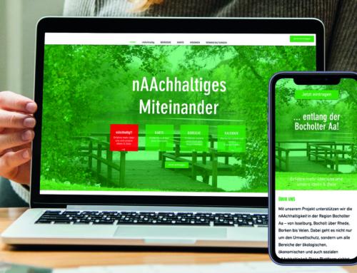 """PRESSEMITTEILUNG: Bürgerstiftung Bocholt stellt neue Plattform """"nAAchhaltig.de"""" vor"""